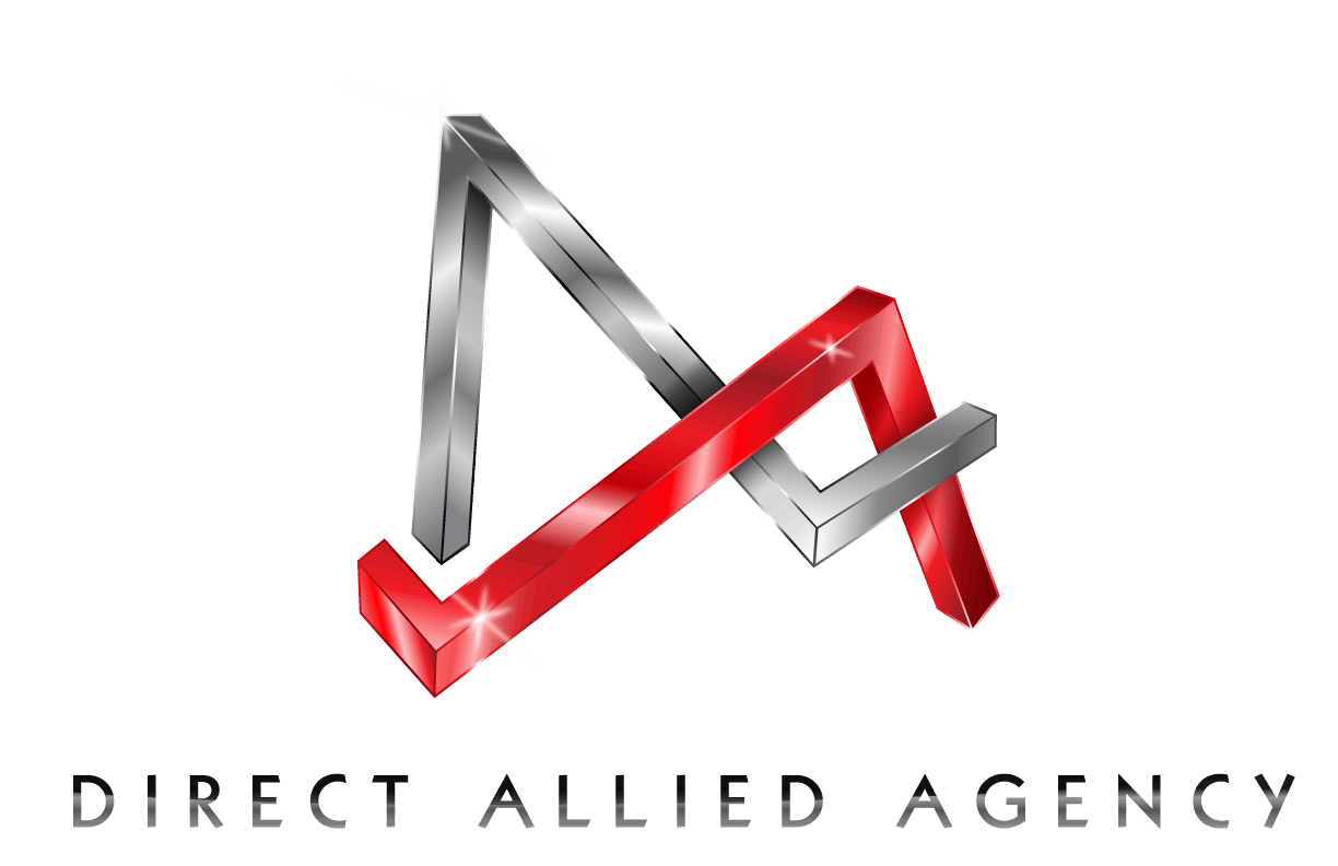 The logo for Direct Allied Agency, a marketing company in Tahlequah OK