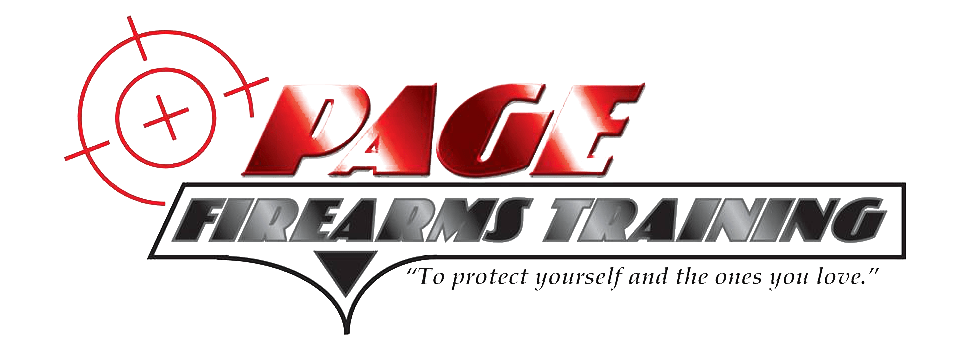 The official logo for Page Firearms of Tahlequah, Oklahoma.