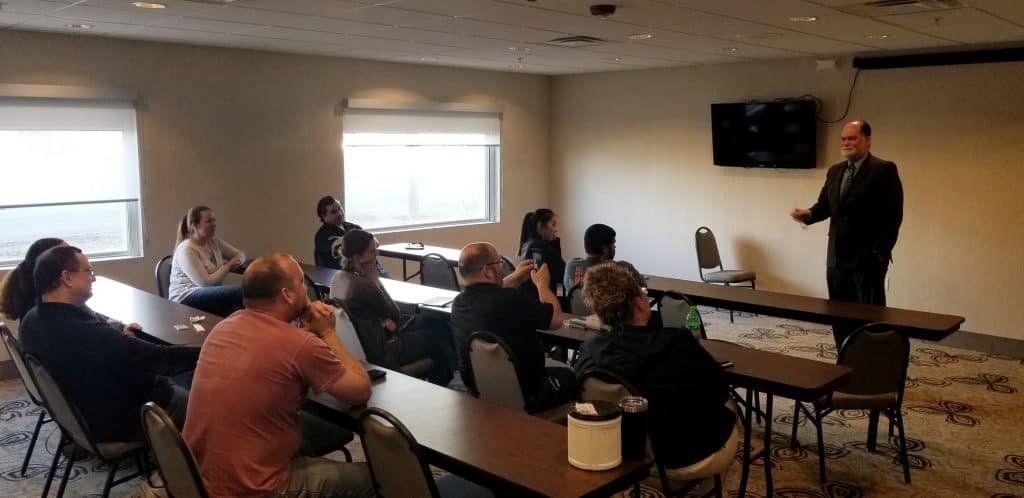 business meeting in Tahlequah, Oklahoma with Tahlequah Business Network